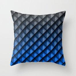 Draco Blue Throw Pillow