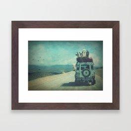 NEVER STOP EXPLORING II SOUTH AMERICA Framed Art Print