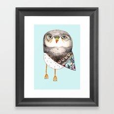Owl by Ashley Percival Framed Art Print