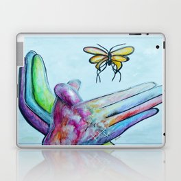 American Sign Language BUTTERFLY Laptop & iPad Skin