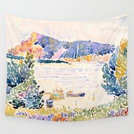 "Henri-Edmond Cross ""Cap Nègre"" Wall Tapestry"
