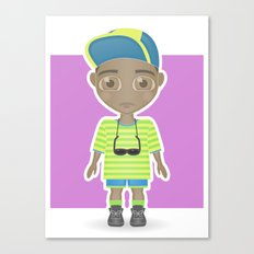 Fresh Prince Canvas Print