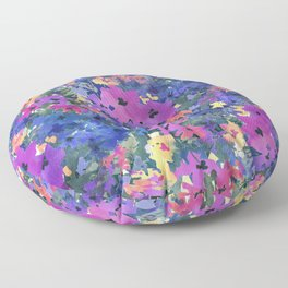 French Red Violet Floor Pillow