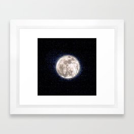 Moon Magic Framed Art Print
