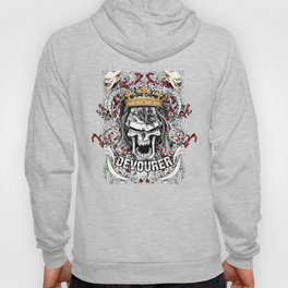 Devourer Skull King Graphic Design Hoody