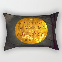 Space Travel Rectangular Pillow