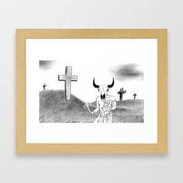 Lord of Golgotha Framed Art Print