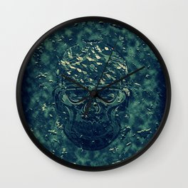 Skull X Wall Clock