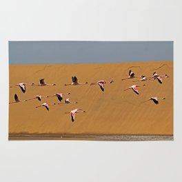 Namibian Flamingos Rug