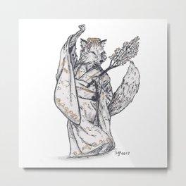 Tiny Dancer - Sakura Fox Metal Print