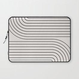 Minimal Line Curvature I Laptop Sleeve