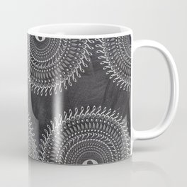 Music note mandala 2 (chalk) Coffee Mug