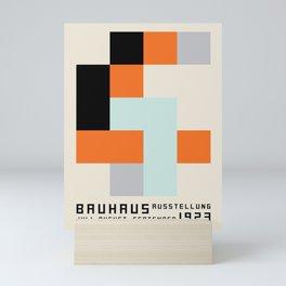 Vintage poster-Bauhaus 1923/3. Mini Art Print