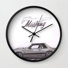 Mustang 1991 Wall Clock