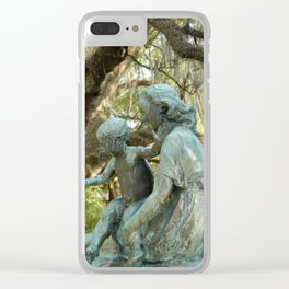 Given to the Children Clear iPhone Case