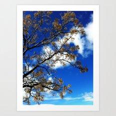 L'arbre de fées  Art Print