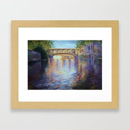 The River Cam Framed Art Print