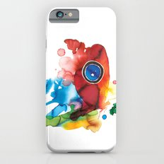 colorful butterfly - 2 iPhone 6s Slim Case