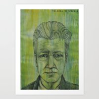 lynch Art Prints featuring Lynch by musentango87