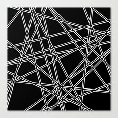 To The Edge Black #2 Canvas Print