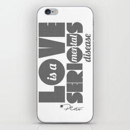 Love - By Plato iPhone Skin