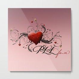 Pretty Little Liars fan heart Metal Print
