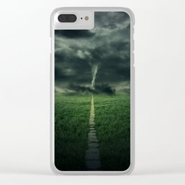 Tornado Clear iPhone Case