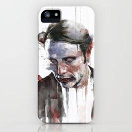 Gere curam mei finis iPhone Case