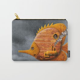 Steampunk Butterflyfish II Carry-All Pouch