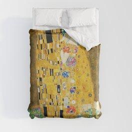 Gustav Klimt The Kiss Duvet Cover