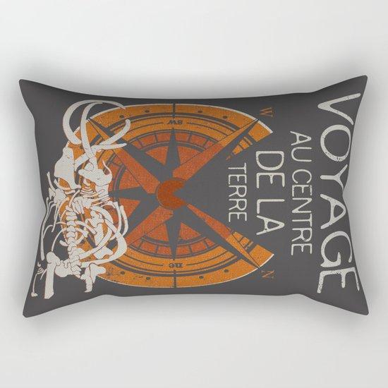 Books Collection: Jules Verne Rectangular Pillow