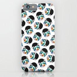 Ga Ga Cat Head iPhone Case