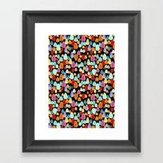 jewel drop Framed Art Print