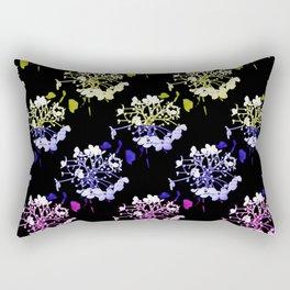 Mood swings with hydrangea buds Rectangular Pillow