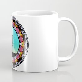 Disc Golf Abstract Basket 6 Coffee Mug