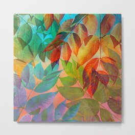 Autumn Lights and Colors Metal Print