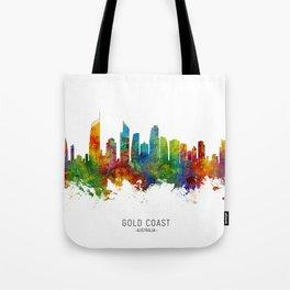 Gold Coast Australia Skyline Tote Bag
