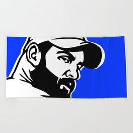 Trucker Beach Towel