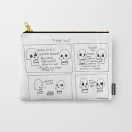 Name Tags Carry-All Pouch