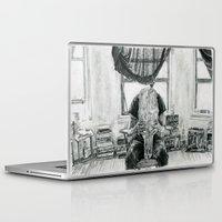 inner demons Laptop & iPad Skins featuring Inner Demons by Art & Ink
