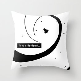 See you...2 Throw Pillow