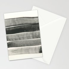 Abstract Line No. 67 black and white Stationery Cards