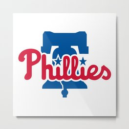 Phillies Metal Print