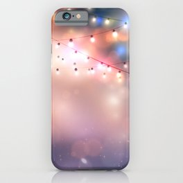 Holiday background iPhone Case