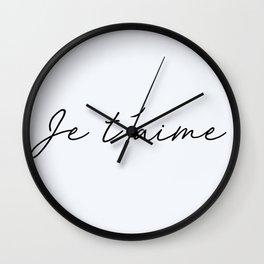 80. I love You Wall Clock