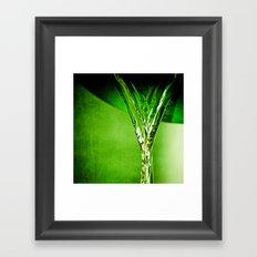 Green Water  Framed Art Print