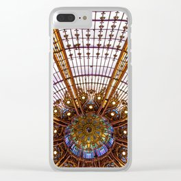 Under the Dome Clear iPhone Case