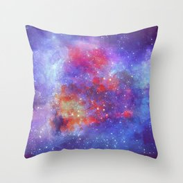 Heart of Universe Throw Pillow