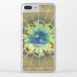 Disfranchises Trance Flowers  ID:16165-032606-04721 Clear iPhone Case
