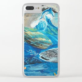 The Jaredite Crossing Clear iPhone Case